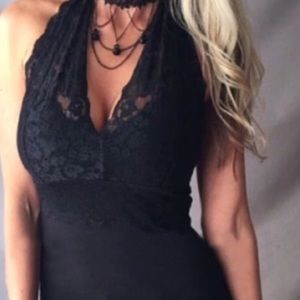 New!  Sexy Lace Halter
